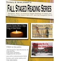 Thinkery & Verse presents:  Fall Staged Reading Series