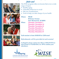 The WISE Program Offers Six Lessons for the Aging Population!