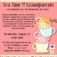 Tea Time!!!  Grandparents Support Group